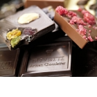 CHOCOLATE BARS (100g) - An outstanding range of bars in dark, white and milk chocolate. With spices : cinnamon, ginger, cocoa beans, Espelette chili... With fruits : banana, cherries, cranberries, strawberries, hazelnuts, candied oranges, pistachio,  coconut... With flowers : rose, violet, lavender... And also carame and sea salt, maple sugar, speculos, cappucino... And the special events for Valentine's day, chritmas... BOVETTI chocolate bars are made with pure cocoa butter  chocolate and contain no preservatives or lecithin. They are also available in 50g and 25g. The range also includes 350g bars : a great size for a great  pleasure !