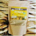Organic and French white quinoa - cooked in 6 min
