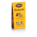Ballotin GIANDUJA lait 1865 - CAFFAREL has created Gianduja in 1865 in Italy. wellknown all around the world, Caffarel use only IGP Piemont hazelnuts for its receipes. this is the Reference for quality Gianduja.