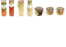 differents products - Differents products like vegetables, mushrooms, soup...