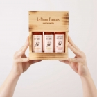 3 Hot Sauces Box - Gift - - An original and spicy gift -  Do you want to offer yourself or to discover the best of the French spicy?  We offer you a nice Maison Martin birch setting from the Jura's eco-managed forests!