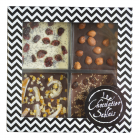 Chocolate to share - Our chocolate to share are good and good-looking. For your company, we can personnalize them: packaging with your own brand, in cardboard or wooden, choice of the chocolate color and of the inclusions, with or without hammer...