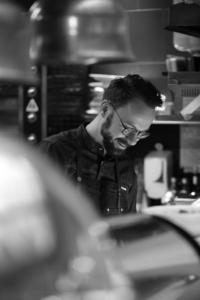 """Romain Le Cordroch, for """"Effet Mer"""" a pop up restaurant on Gourmet Selection"""